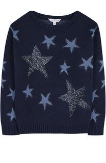Вязаный свитер с принтом и пайетками Marc Jacobs