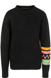 Кашемировый пуловер с круглым вырезом The Elder Statesman