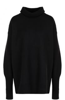 Однотонный шерстяной свитер с высоким воротником Maison Margiela