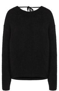 Пуловер из смеси шерсти и кашемира с шелком Forte_forte