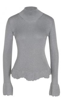Приталенный свитер с высоким воротником MRZ