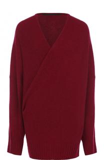 Пуловер из смеси шерсти и кашемира с V-образным вырезом Haider Ackermann