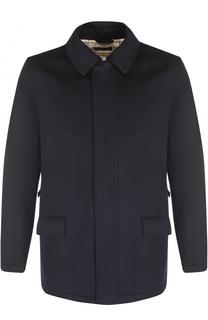 Кашемировая куртка на молнии с замшевой отделкой Loro Piana