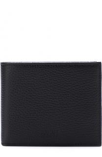 Кожаное портмоне с отделениями для кредитный карт и монет Armani Collezioni