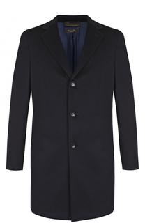 Однобортное пальто из шерсти викуньи Loro Piana