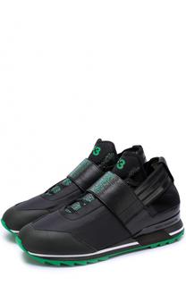 Комбинированные кроссовки с контрастной отделкой Y-3