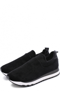 Бархатные кроссовки Jadyn без шнуровки DKNY