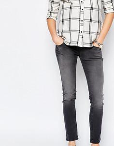 Эластичные джинсы скинни Isabella Oliver - Серый