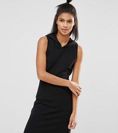 Короткое платье с капюшоном Nocozo - Черный