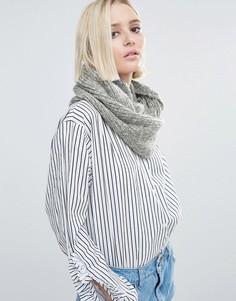 Светло-серый вязаный шарф Genie by Eugenia Kim Lane - Серый