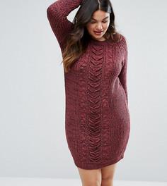 Платье-джемпер Junarose Plus - Красный