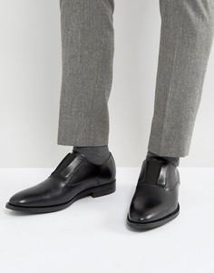 Блестящие туфли с эластичными вставками ALDO Prodolone - Черный