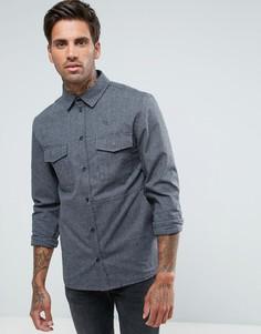 Плотная рубашка навыпуск Another Influence - Серый