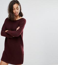Платье-джемпер ASOS PETITE - Красный