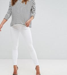 Белые джинсы скинни с посадкой под животом ASOS MATERNITY Ridley - Белый