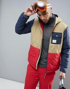 Утепленная горнолыжная куртка ONeill - Коричневый O`Neill