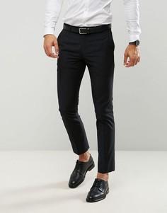 Черные облегающие брюки Farah - Черный