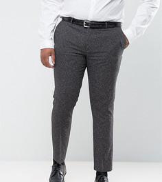 Серые зауженные брюки Harry Brown PLUS - Серый