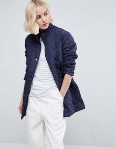 Стеганое пальто b.Young - Темно-синий