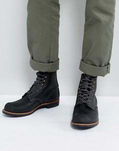 Черные кожаные ботинки со шнуровкой Red Wing Blacksmith - Черный