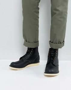 Черные кожаные ботинки со шнуровкой Red Wing - Черный