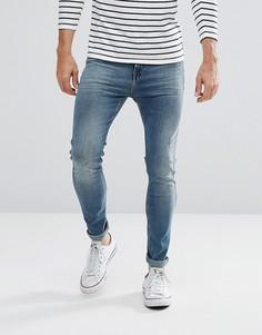 Супероблегающие джинсы Lee Boyd - Синий