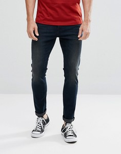 Супероблегающие джинсы Lee Malone - Темно-синий