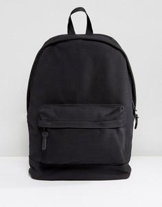 Черный фактурный рюкзак ASOS - Черный