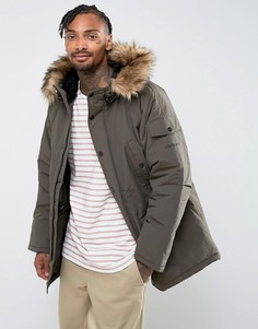Зеленая парка Carhartt WIP Anchorage - Зеленый
