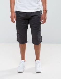 Черные байкерские джинсы Brave Soul - Черный