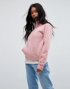 Oversize-свитшот на молнии Carhartt WIP - Розовый