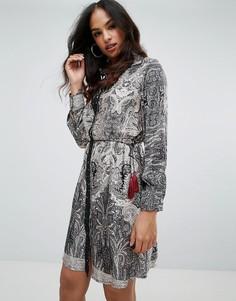Платье-рубашка с принтом Forever Unique - Мульти