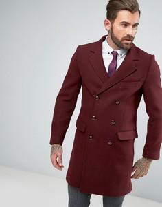 Оверсайз-пальто с добавлением шерсти Gianni Feraud - Оранжевый
