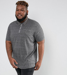 Серая футболка-поло Duke PLUS - Серый