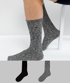 2 пары толстых носков Calvin Klein - Мульти