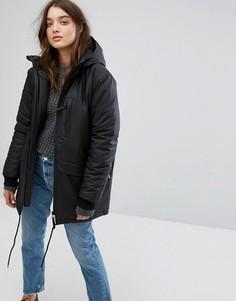 Непромокаемая куртка на термоподкладке Rains N3 - Черный
