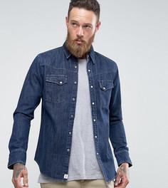 Синяя выбеленная джинсовая рубашка Edwin Kaito - Синий