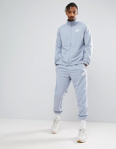 Синий спортивный костюм Nike 861780-023 - Серый