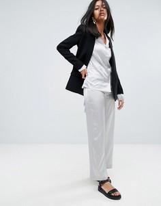 Шелковые брюки To Be Adored Laissa - Серебряный