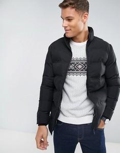 Дутая куртка Selected Homme - Черный