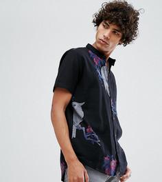 Черная рубашка с короткими рукавами Rollas Bon - Черный Rollas