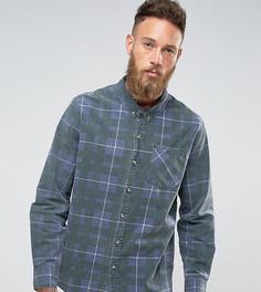 Клетчатая рубашка Rollas Tradie - Темно-синий Rollas