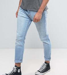 Синие джинсы слим Rollas Rollies - Черный Rollas