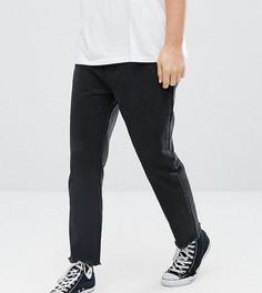 Черные укороченные суженные книзу джинсы Rollas Stubs - Черный Rollas