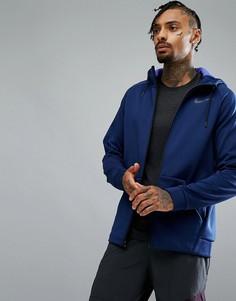 Синяя куртка Nike Training Therma Sphere 860511-429 - Синий