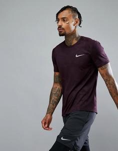 Футболка с принтом Nike Running Miler 858157-652 - Красный