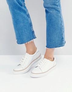 Кожаные кроссовки Sixtyseven - Белый