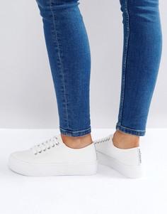 Парусиновые кроссовки Sixtyseven - Белый