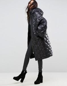 Дутая куртка ASOS - Черный
