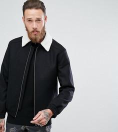 Куртка Харрингтон с воротником борг Noose & Monkey - Черный